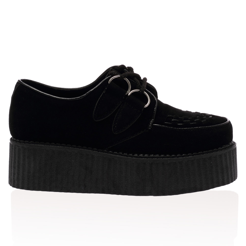 new creepers chunky grip sole womens high platform