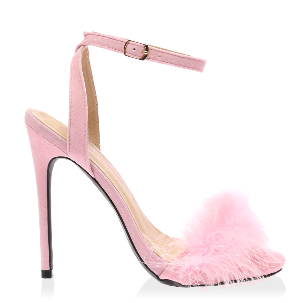 Feathers amp stiletto heels