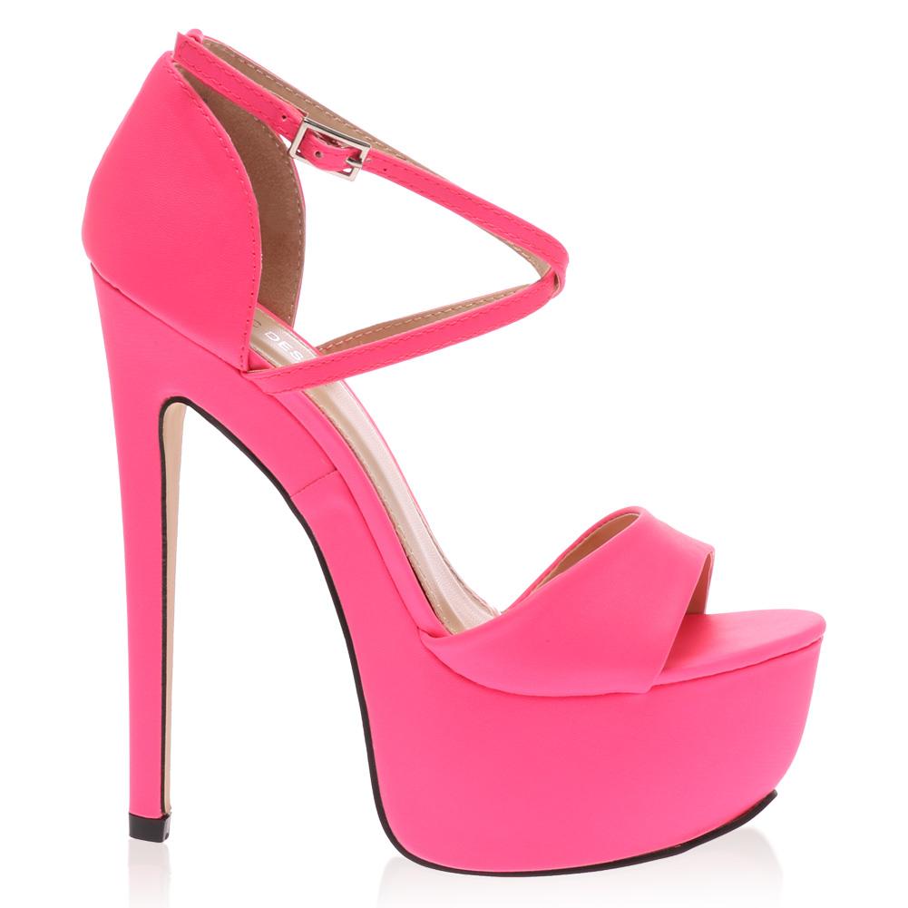 peep toe womens platform cross stiletto