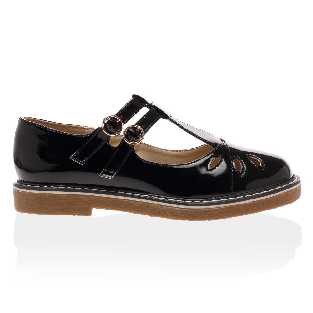 Born Black Mary Jane Shoes