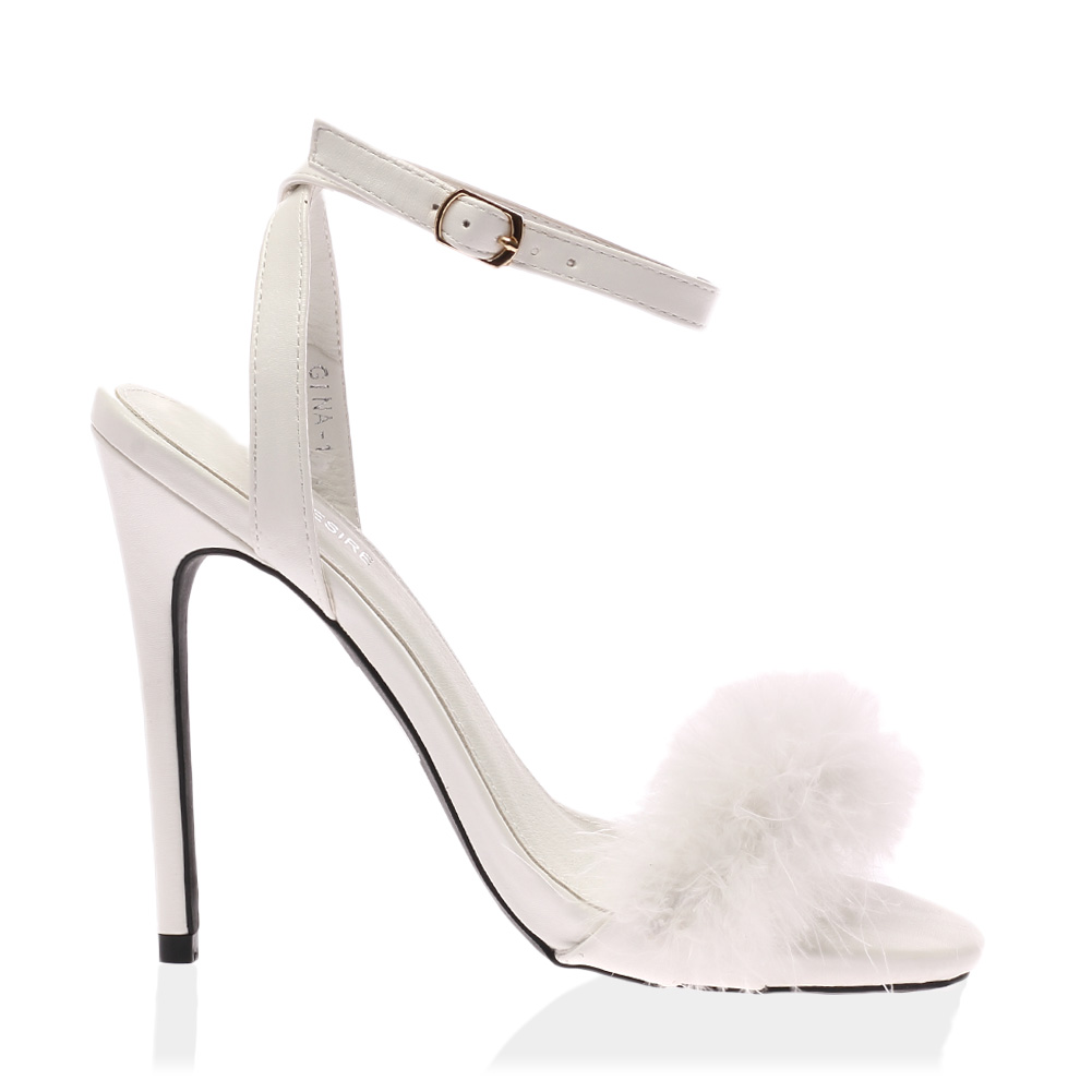 White Feather Shoes