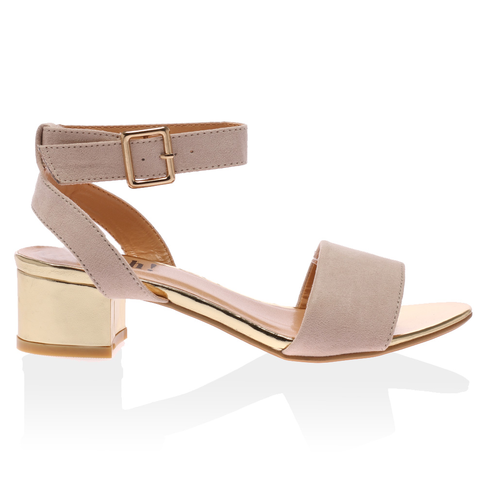 Nude low wedges Nude Photos 40
