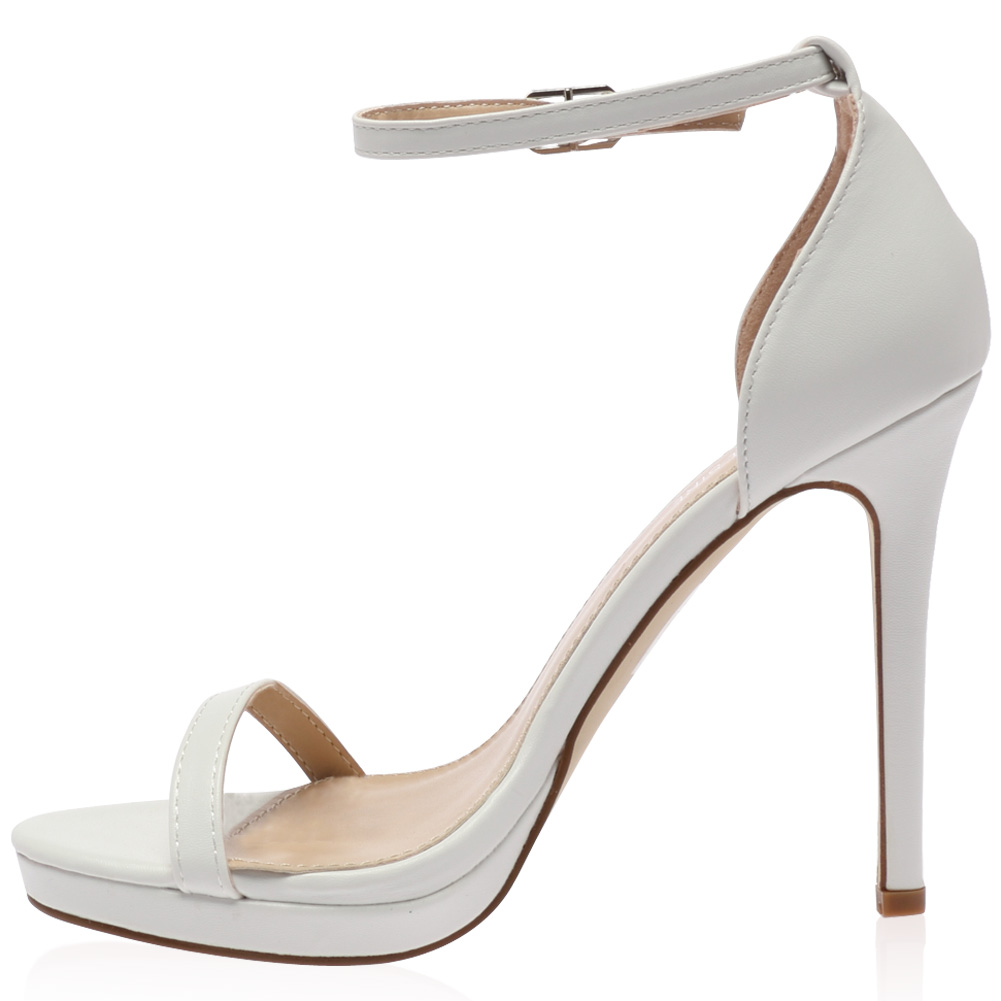 new ankle buckle womens high stiletto heel