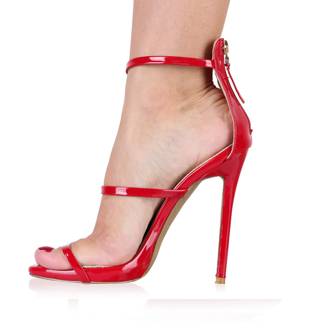 Cut Out High Heel Shoes