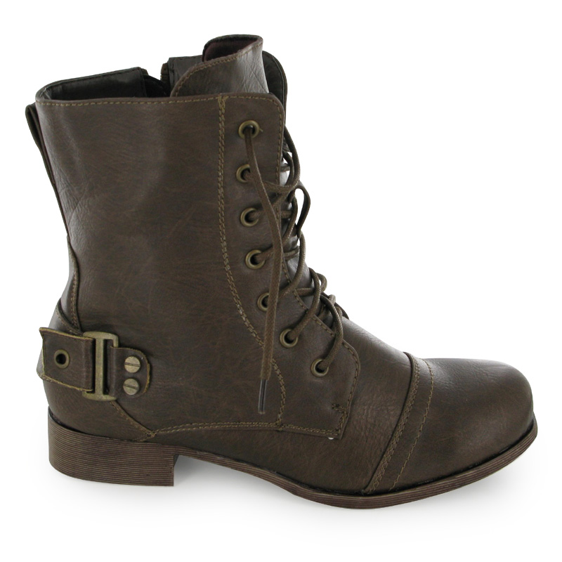 Gallery For gt Brown Combat Boots Kids