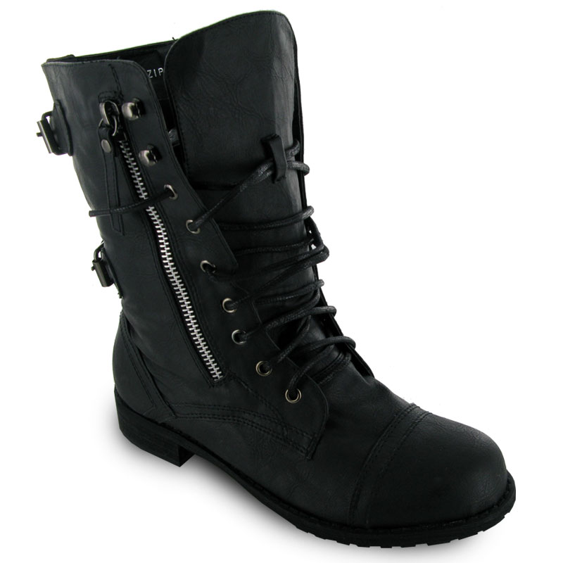 Amazing Adorned With Painted Roses With A Black Or Brown Base You Also Have Some Other Fun And Funky Color  Steve Madden Troopa 20 Boot For Women Soliloquy Idstevemaddentroopa20bootCombat Boots Are Often Associated With