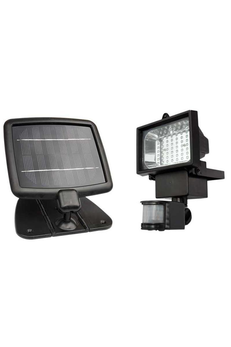 Bnib Evo 36 Black Finish Solar Outdoor Security Light