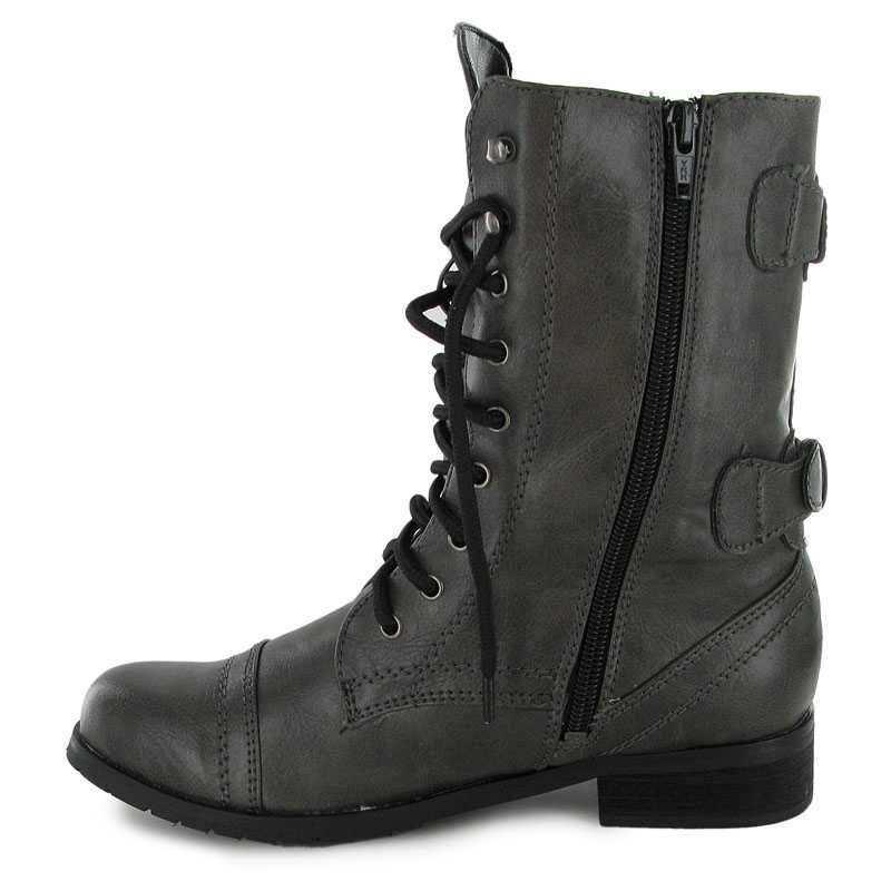 NEW LADIES MILITARY ARMY COMBAT WORKER BOOTS SIZES 3 8