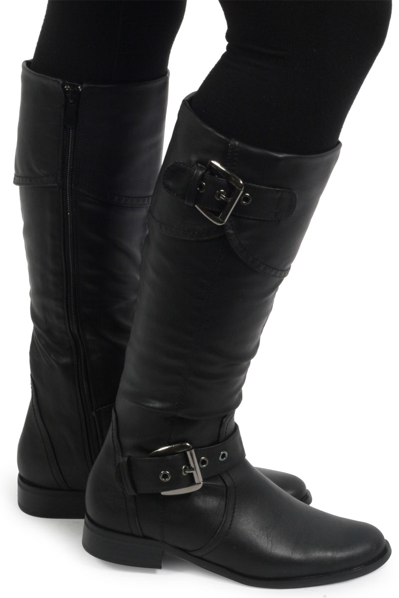 Black Womens boots size 10