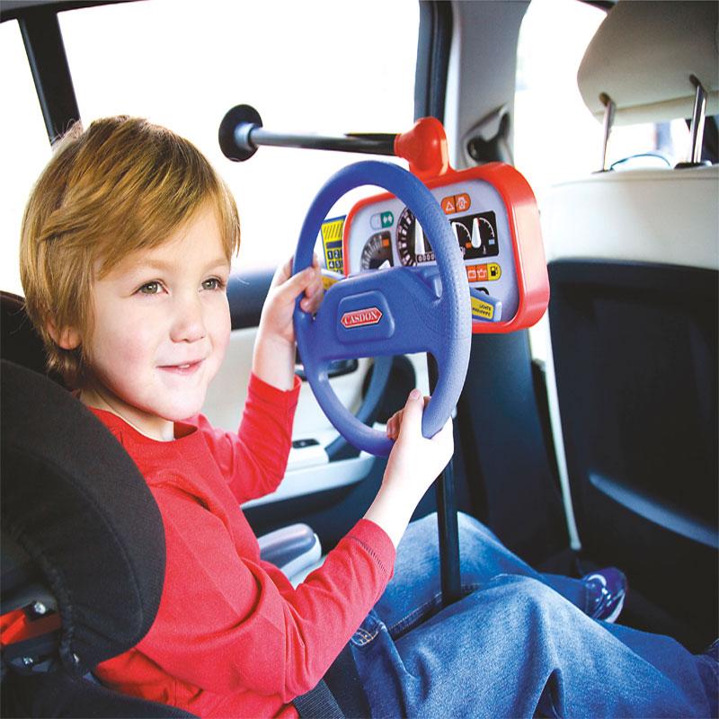 Kinder spielzeug lenkrad im auto neu casdon rücksitz