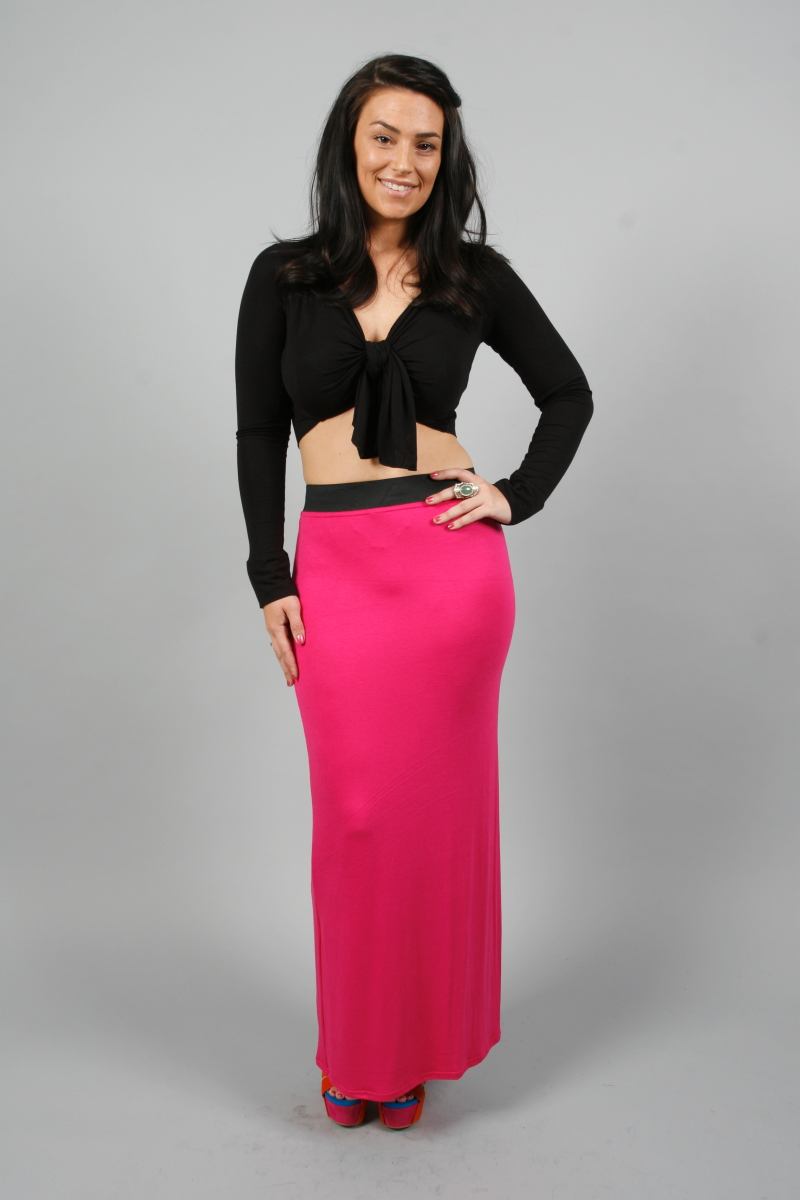Long Fitted Skirt 45