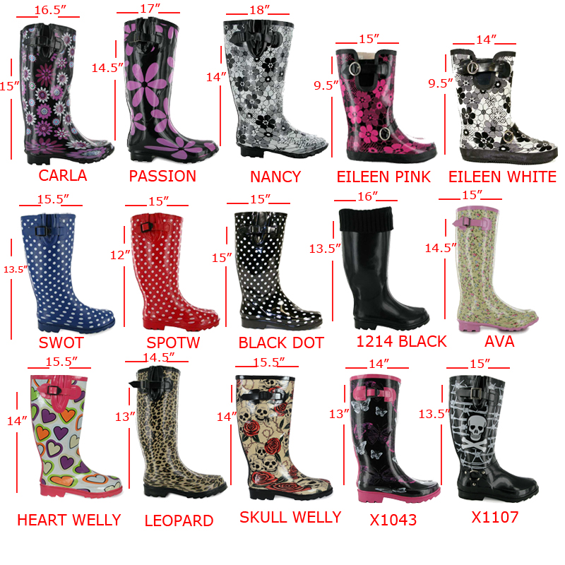 LADIES FESTIVAL WELLIES WOMENS WELLY WELLINGTON BOOTS