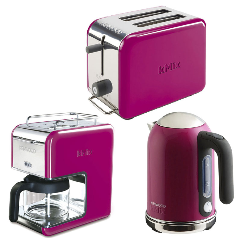 New magenta kenwood kmix boutique kettle stylish modern Kitchen appliance reviews uk