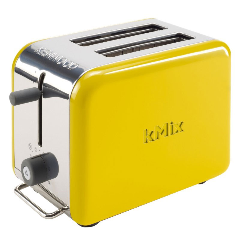 new yellow kenwood kmix boutique 2 slice toaster modern home kitchen