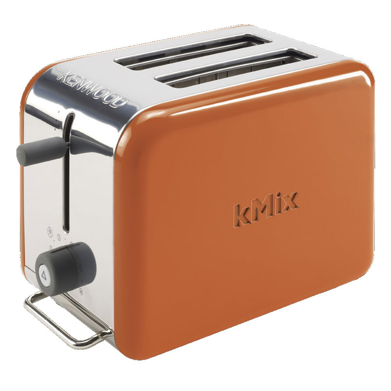 new orange kenwood kmix boutique 2 slice toaster modern home kitchen appliance ebay. Black Bedroom Furniture Sets. Home Design Ideas