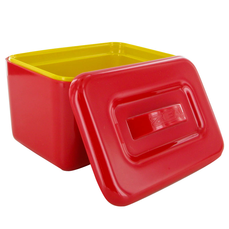 New Zeal Red Melamine Margarine Spread Butter Keep Cool