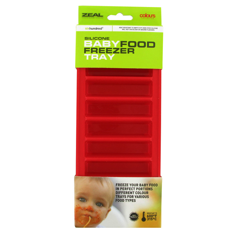 Zeal Silicone Baby Food Freezer Tray