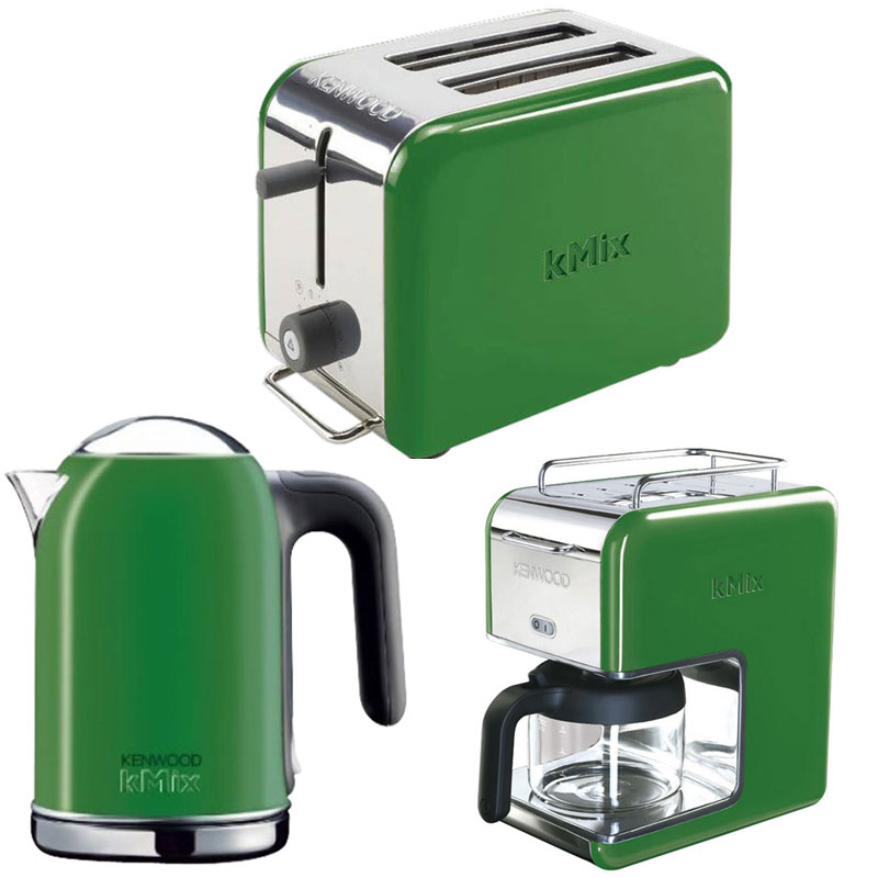 New Green Kenwood Kmix Boutique Kettle Funky Modern Home: kitchen appliance reviews uk
