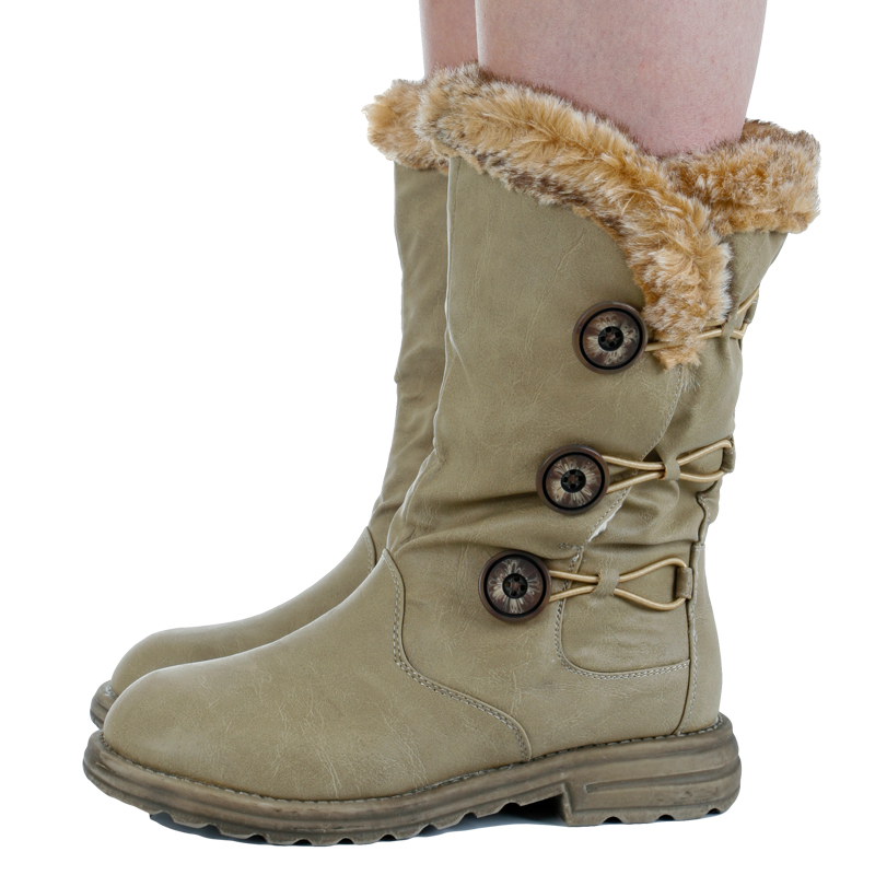 Ladies Fur Winter Boots | Planetary Skin Institute