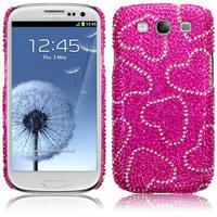 Diamante Case for Samsung Galaxy S3 i9300 SilverBlackAnimalPurplePinkHearts