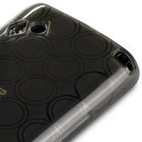 GEL CASE COVER FOR SAMSUNG S8500 WAVE - SMOKE BLACK
