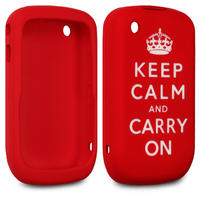 BLACKBERRY CURVE 8520 LASERED KEEP CALM AND CARRY ON