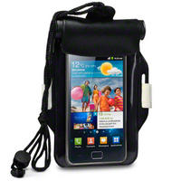 BLACK WATERPROOF CARRY CASE FOR SAMSUNG GALAXY S2