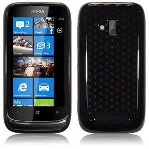 TPU-Gel-Case-Cover-for-Nokia-Lumia-610-Smoke-Black-Clear-Pink-Purple-Blue