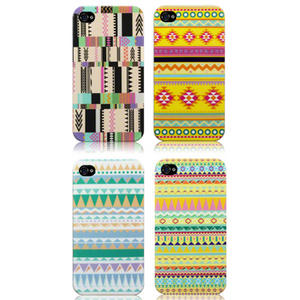 TPU-Gel-Case-Cover-for-iPhone-4S-iPhone-4-Aztec-Oh-So-Mexico-Retro-Vintage