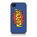 View Item iPhone 4S / 4 Kapow Comic Capers - Purple/Orange/Yellow (Designed by Creative Eleven)