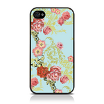 View Item iPhone 4S / 4 Vintage Floral Flourish Print Hard Back Case
