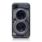 View Item iPhone 4S / 4 Vintage Retro Old Skool Rolleiflex Camera Hard Back Cover Case
