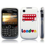 View Item Blackberry Curve 8520 / 9300 TPU Gel Skin Case - London Double Decker Bus