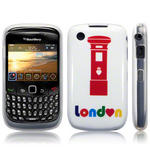 View Item Blackberry Curve 8520 / 9300 TPU Gel Skin Case - London Post Box