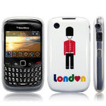 View Item Blackberry Curve 8520 / 9300 TPU Gel Skin Case - London Buckingham Palace Guard
