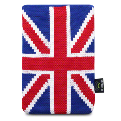 View Item Kindle Touch Sock Cover - Red - White - Blue - Union Jack