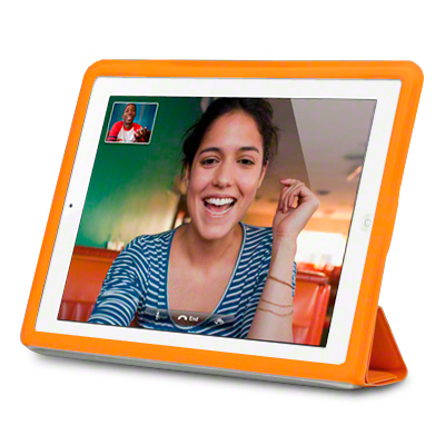 View Item iPad 2 / 3 Case With Smart Cover - Orange