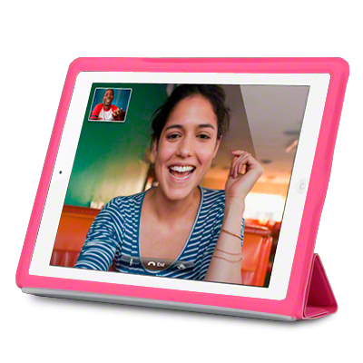 View Item iPad 2 / 3 Case With Smart Cover - Pink
