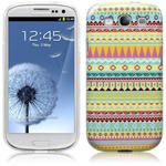 View Item Samsung Galaxy S3 I9300 TPU Gel Skin Case Totally Tribal Aztec (Designed By Creative Eleven)