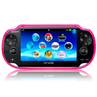 View Item Sony PS Vita TPU Gel Skin Case - Hot Pink