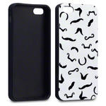 View Item iPhone 5 I Moustache You Something Fashion Case - Black/White