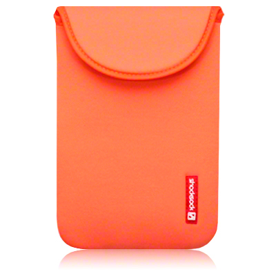 View Item Kindle 3 Neoprene Pouch Case Skin Orange By Shocksock