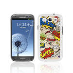 View Item Samsung Galaxy S3 I9300 Comic Capers Back Cover Fashion Case -