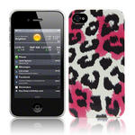 View Item iPhone 4S / 4 Summer Roar - Black/White/Pink (Designed By Creative Eleven)