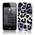 View Item iPhone 4S / 4 Summer Roar - Black/White/Purple (Designed By Creative Eleven)