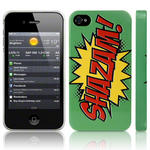 View Item iPhone 4S / 4 Shazam Comic Capers Green/Red/Yellow (Designed by Creative Eleven)
