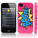 View Item iPhone 4S / 4 Boom Comic Capers Pink/Blue/Yellow (Designed by Creative Eleven)