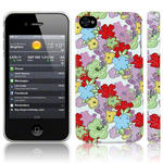 View Item iPhone 4S / 4 Vintage Floral Blooming Amazing Print Hard Back Case