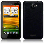 View Item HTC One X Covert Pu Leather Snap On Case - Black