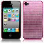 View Item iPhone 4S / 4 Hot Pink Diamante Style